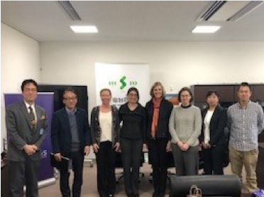 Faculty from the University of Washington (Seattle, U.S.) School of Nursing visited IRIDeS